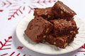 Brownie Squares Stock Images - 44575534