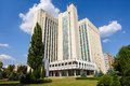 Authorithy Building In Chisinau, Moldova Royalty Free Stock Photography - 44578017