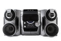 Compact Stereo System Cd And Cassette Player Isolated With Clipp Royalty Free Stock Image - 44578806