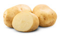 Potato Isolated Royalty Free Stock Photo - 44597345