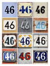 Number 46 Stock Photo - 44600290