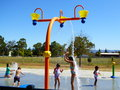 Children Beating The San Fernando Valley He A Time At The Chatsworth Park Water Playground Stock Photography - 44604742