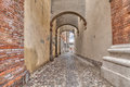 Alley In Italian Old Town Royalty Free Stock Images - 44610489