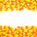 Halloween Candy Frame Royalty Free Stock Photo - 44611135