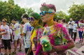 The Color Run Bucharest Royalty Free Stock Images - 44613979