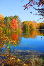 Autumn Reflections Royalty Free Stock Image - 44615926