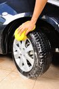 Washing The Car Stock Images - 44619224