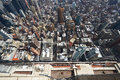 Cityscape View Of Manhattan From Empire State Building Royalty Free Stock Photo - 44627105