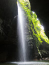 Waterfall In Paradise Stock Image - 44647391