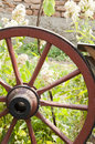 Old Wooden Cart Royalty Free Stock Photography - 44647527