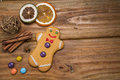 Gingerbread Man Royalty Free Stock Photography - 44650927