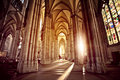 Cathedral Interior Royalty Free Stock Image - 44696716