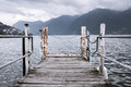 Boat Dock In Lugano Royalty Free Stock Photography - 44698567