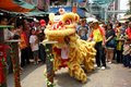 Chinese Lion Dance Stock Image - 4472551