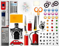 Set Of Objects   Stock Images - 4474604