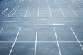 Empty Parking Lot Royalty Free Stock Photography - 44701847