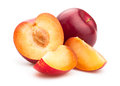Red Plums Stock Images - 44727634