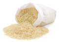 Rice In Paper Bag Royalty Free Stock Image - 44730046