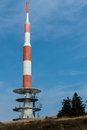 Mountain Top Radio Communications Tower Royalty Free Stock Image - 44739356
