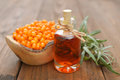 Sea-buckthorn Oil Stock Photography - 44748212