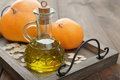 Pumpkin Seed Oil Royalty Free Stock Image - 44748256