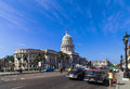 Caribbean Cuba Havana Main Road With Capitol View Stock Images - 44752044
