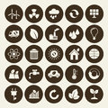 Industrial Icons Set Stock Photography - 44775512