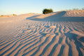 Waves On Sand Dune At Sunset Royalty Free Stock Photo - 44791635