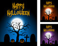 Halloween Cards Stock Images - 44794344