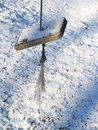 Weatherbeaten Swing In Snow Stock Images - 4480464
