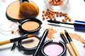 All Types Of Make-up And Brushes Royalty Free Stock Images - 44807779