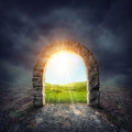 Mysterious Entrance Royalty Free Stock Photos - 44814938