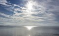 Sun Over The Water Stock Images - 44822264