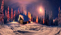 Christmas In The Carpathians Stock Photo - 44829330