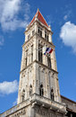 Cathedral Tower In Trogir, Croatia Royalty Free Stock Photography - 44832887
