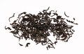 Dry Black Tea Leaves Isolated On A White Royalty Free Stock Photo - 44835045