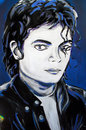 Michael Jackson Graffiti  Portrait Stock Image - 44867571