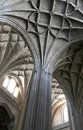 Interiors Of A Gothic Cathedral, Detail Of The Ceiling Stock Photos - 44873843