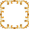 Autumnal Leaves Border Frame Royalty Free Stock Photography - 44876467