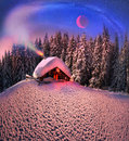 Christmas In The Carpathians Royalty Free Stock Photography - 44877297