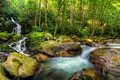 The Great Smoky Mountain National Park Mouse Creek Falls Royalty Free Stock Photos - 44893658