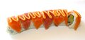 California Sushi Roll Topped With Eel Royalty Free Stock Photo - 44895395