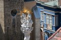 Statue On The Holy Trinity Column Stock Photography - 44898372