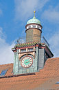 Old Clock Turret 6 Royalty Free Stock Photo - 4490485