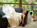 Bride On The Sofa Stock Images - 4497734