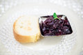 Onion Jam And Bread Stock Image - 44901061