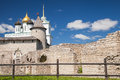 The Trinity Cathedral Located Since 1589 In Pskov Kremlin Stock Photos - 44923823