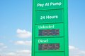Petrol And Diesel Prices In Australia Royalty Free Stock Photo - 44934325