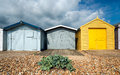 Beach Huts At Hastings Stock Images - 44944614