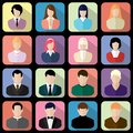 Flat Users Icon Royalty Free Stock Photos - 44955828